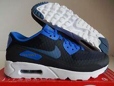 36f8165ddeeb Nike Air Max 90 Ultra Essential Navy Blue Mens Running Shoes SNEAKERS  819474-405 9.5