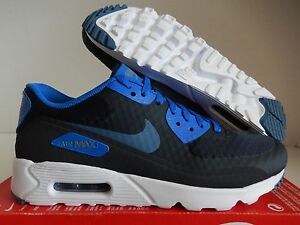 best service 849ef 6964d Image is loading NIKE-AIR-MAX-90-ULTRA-ESSENTIAL-DARK-OBSIDIAN-