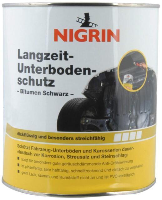 Nigrin 74061 Underbodenschutz 2.5kg  Langzeit-Unterbodenschutz Bitumen schwarz
