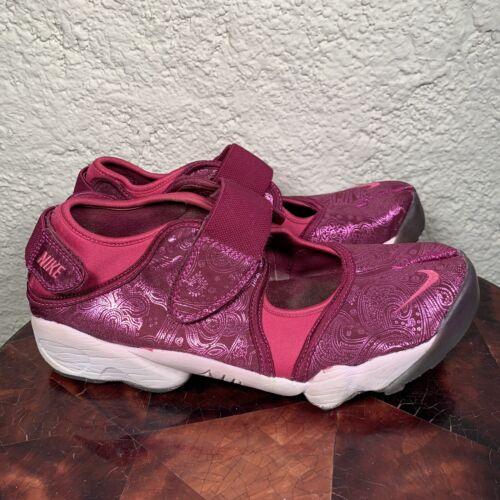 RARE Nike Air Rift Split Toe Fuschia Pink Women's