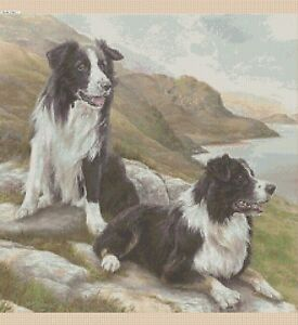 Cross-Stitch-Chart-Border-Collies-no-3-dog-TSG37