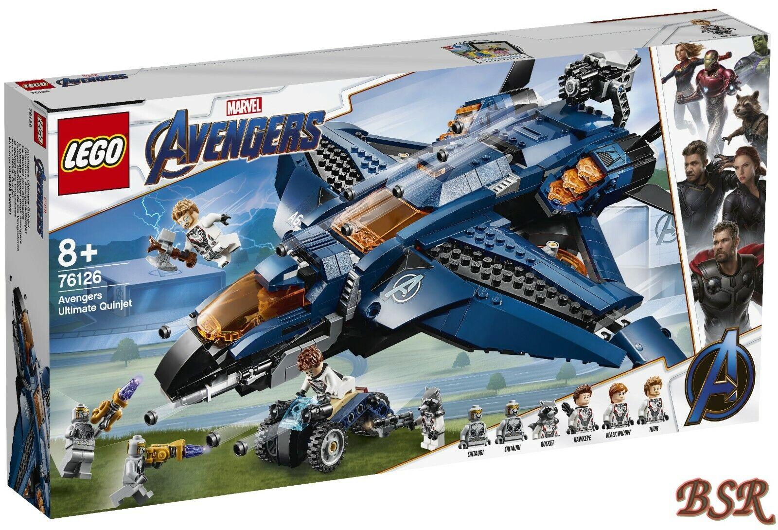LEGO ® Marvel Avengers  76126 massima Avengers-Quinjet & 0.  Spedizione NUOVO OVP