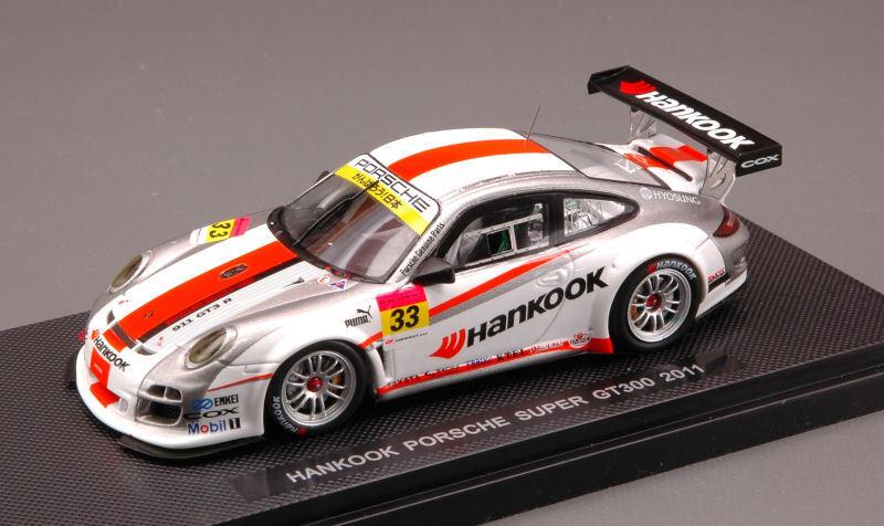 Porsche 997 Gt3  33 Hankook Hankook Hankook Super Gt 300 2011 1 43 Model 44540 EBBRO 53c0f7