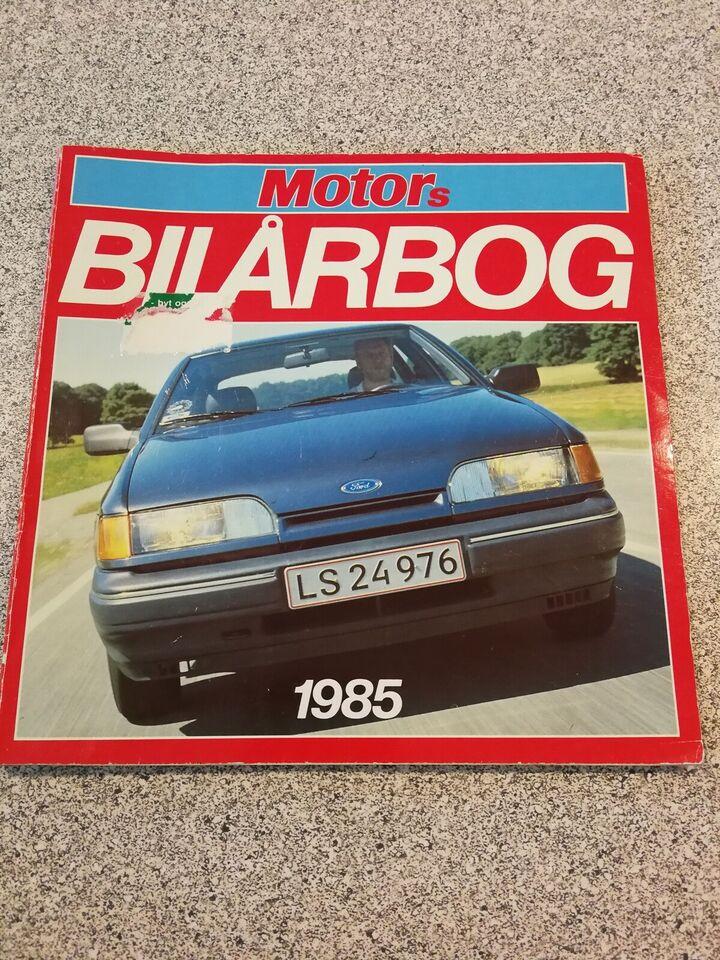 Bilårbog 1985 fra FDM, Motors Bilårbog