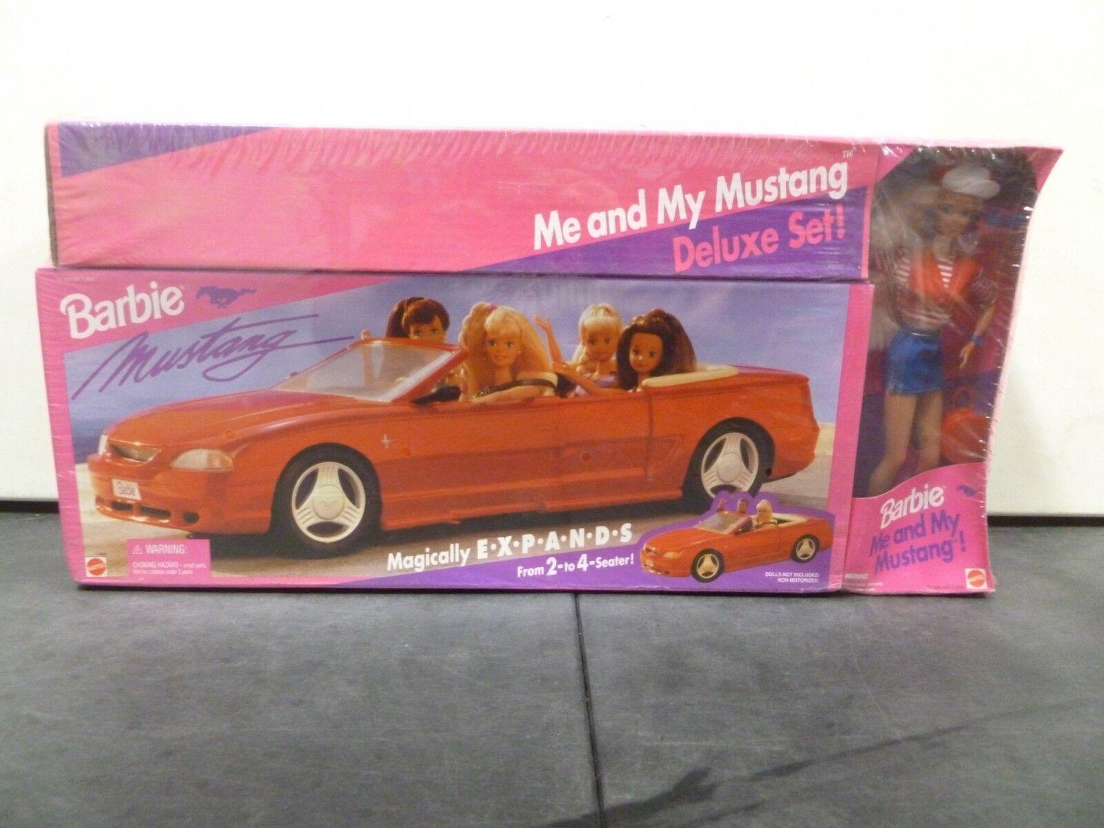 1994 Barbie mi y mi Mustang Deluxe Set