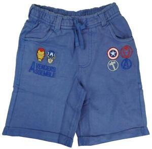 Boys-Shorts-Bermuda-Marvel-Avengers-Beach-Summer-Kids-Fashion-3-to-8-Years