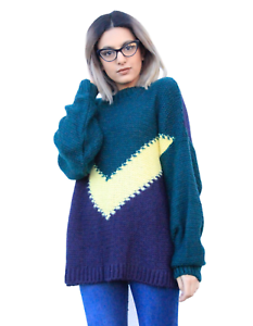 24279062 New ex ASOS DESIGN Chevron Oversized Chunky Soft Touch Jumper RRP ...
