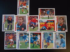 SPAIN & GREECE  WORLD CUP 1994  Lot of 12  SOCCER TRADING CARDS football futbol