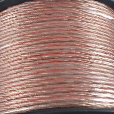 10 METRI HIFI Loud Altoparlante Cavo 2x 4mm Multi-strand 100% Cca FILO AUDIO