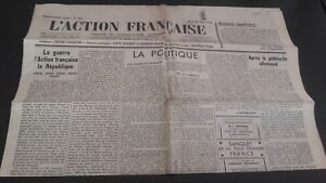 JOURNAL-NATIONALISTE-L-039-ACTION-FRANCAISE-21-AOUT-1934-N-233-ABE