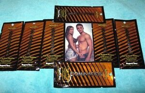 LOT-OF-7-SPORT-DOMIATION-DARK-TAN-POWER-MAXIMIZER-LOTION-PACKETS-BY-SUPRE