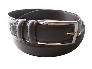Cinturon De Cuero Excelente calidad Para Hombre Color Marron Y Negro