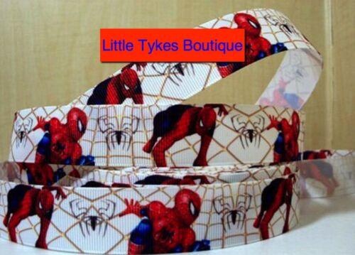 "Spiderman ruban large 1/"" neuf uk vendeur gratuit p/&p"