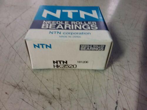NEW! NTN HK3520 NEEDLE ROLLER BEARING
