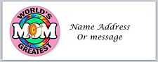 Personalized Return Address Labels Mom Mother Buy 3 get 1 free (a 25)