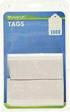Monarch Refill Tags For Tag Attached Kit 113 X 175 1000pack Paper White