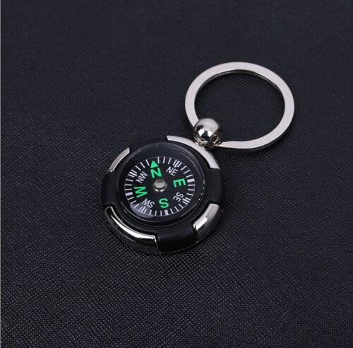 Kreativer Kompass-Metallauto-Schlüsselring Keychain FT