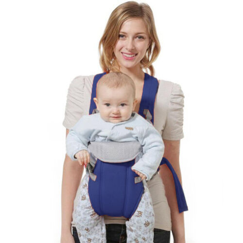 Newborn Kid Infant Baby Carrier Backpack Front Back Rider Sling Comfort Wrap Bag