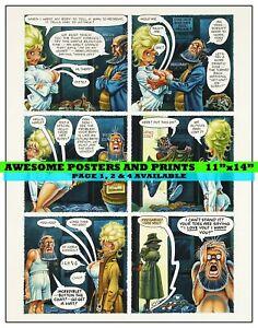 PLAYBOY-STORY-LITTLE-ANNIE-FANNY-CARTOON-DEC-1971-PAGE-3-REPRINT-11x14