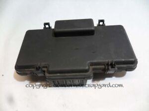 details about honda stream 1 7 vtec 00-06 d17 relay fuse box cover lid top  + diagram