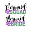 HEN NIGHT PARTY IRON ON HEAT TRANSFER TSHIRT LOT WEDDING BRIDE MERMAID