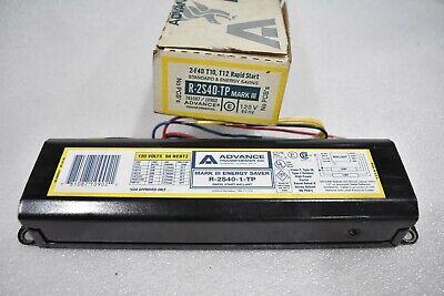Advance Fluorescent LIGHT BULB BALLAST  A-175-S A-175-S-2 120V 60 HZ  T12 NOS