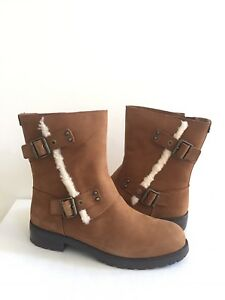 d47b0630d8e Details about UGG NIELS CHESTNUT WATER RESISTANT LEATHER BOOTS US 9 / EU 40  / UK 7.5 -NIB