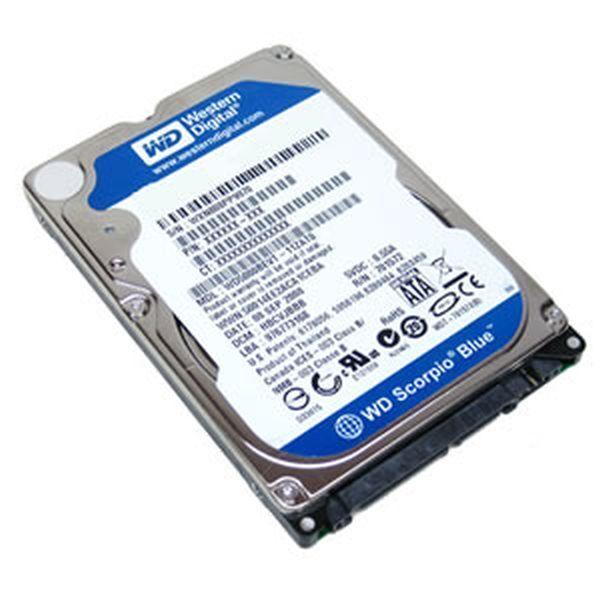 Western Digital Blue 500 Gb Internal 5400 Rpm Laptop Sata 2 Hard Drive For Sale Online