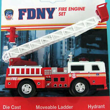 Leiterwagen Fire Department New York FDNY 13cm Feuerwehr Modellauto metal RT8790