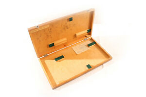 Old-Box-Wood-Transport-Chest-Storage-Measuring-Tool-Dial-Indicator-Case