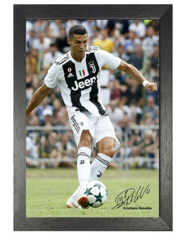 10 Ronaldo Juventus Portuguese Football Player Poster Signed Sport Star Photo