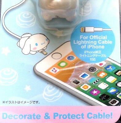 New SANRIO Hello Kitty Cute Lightning Cable cover Bite protect accessory