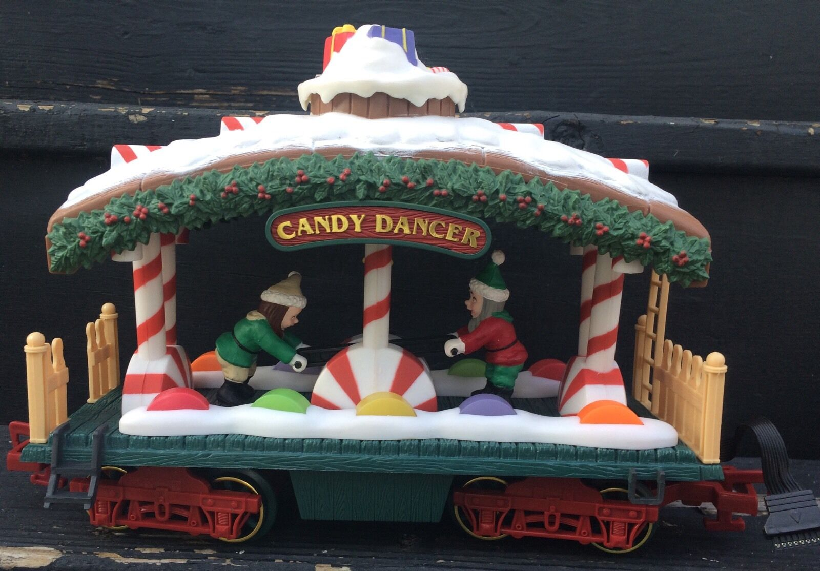 nuovo Bright Holiday Express Train 387 Cey Dancer Passenger auto Testedlavoros