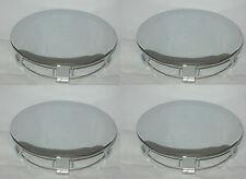"4 CAP DEAL 1991-1995 FORD MUSTANG PONY CHROME WHEEL RIM 6-3/4"" CENTER CAP 941517"