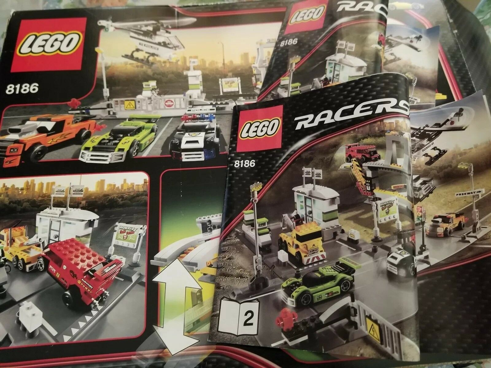 LEGO 8186 Racers Lego Racers Racers Racers 75%+ complete Sold as is fdc664