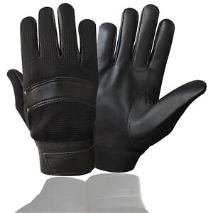 PRIME-POLICE-GLOVES-TOP-QUALITY-REAL-LEATHER-TACTICAL-SEARCH-DUTY-PETORL-7002