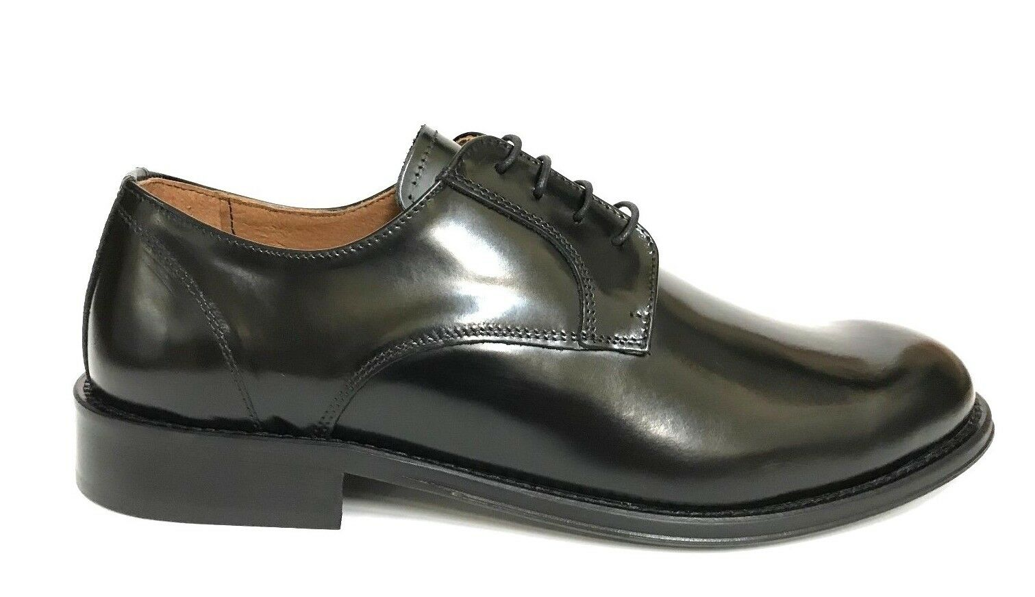 shoes men WEENCHESTER SHOES STRINGATE ELEGANTI 536 black P EE 2018 SCONTO 30%