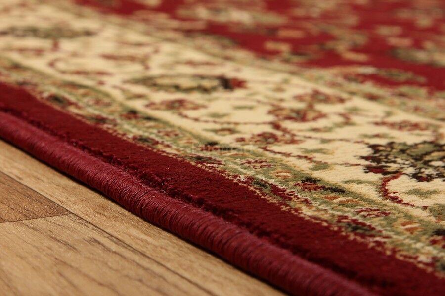 Tradicional Alfombra persa diseño Oriental Rojo easycare Alfombra Tradicional Hall Runner 68x235cm 30% De Descuento 987feb