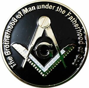 Details about Z-132 Brotherhood Under GOD Masonic Auto Emblem FreeMasonry  Car Lodge Mason PHA