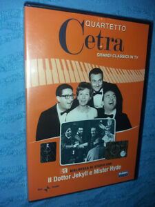 DVD-nuovo-grandi-classici-QUARTETTO-CETRA-IL-DOTTOR-JEKILL-E-MISTER-HYDE-bibliot
