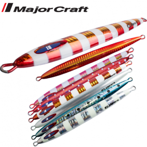 Major Craft Slow Pitch Jigging Metal Lure Jigpara Vertical Long Slow 250G