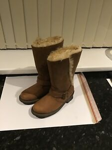 Brown Cat Size Catepillar Suede Ladies 3 Leather Boots Sxvnn
