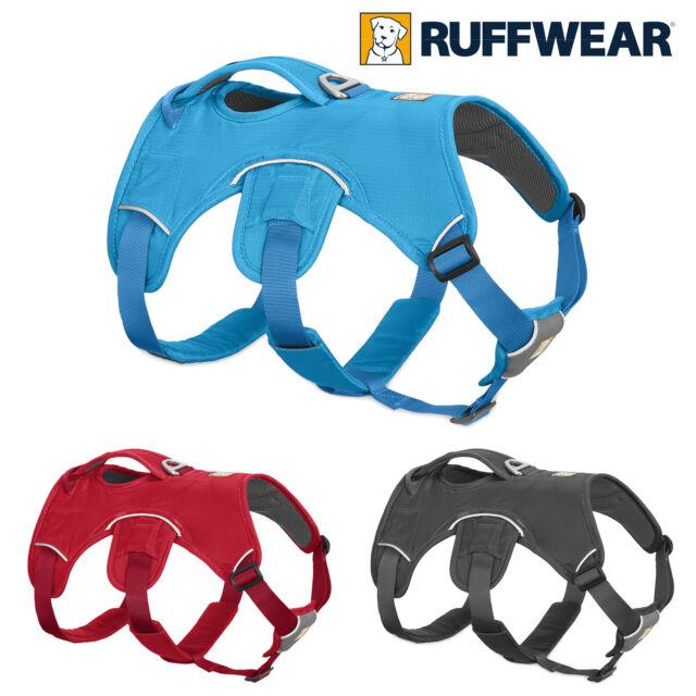 Ruffwear Webmaster Pettorina - Rosso, Grigio o Blu Cane Web Master Multi Uso