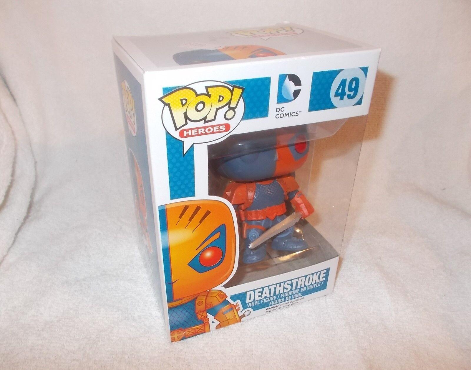 Action Figure Figure Figure Funko Pop Vinyl DC Super Heroes Deathstroke a65e18