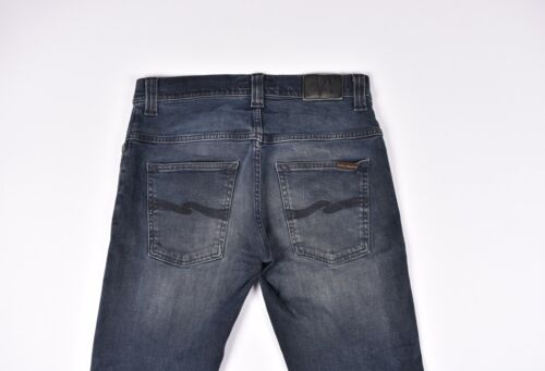 Noir Nudie Taille 30 Finn Fin Jeans Org Et Hommes Gris 32 qTZFPT7w