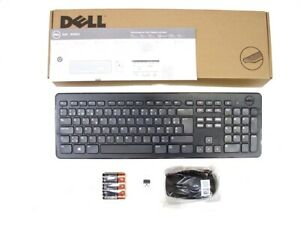 DELL-KM632-Wireless-Cordless-Keyboard-and-Mouse-Set-Combo-Kit-BELGIAN-Layout