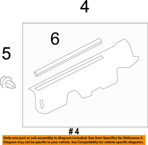 TOYOTA OEM 13-15 RAV4 Fender-Upper Seal Right 533880R030