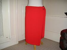 M&S COLLECTION SMART KNEE LENGHT WRAP SKIRT NEW £29.50 TAGS