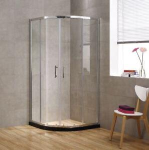Image Is Loading Gl Corner Shower Doors Quadrant Enclosure Walk