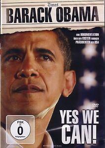 BARACK-OBAMA-Yes-We-Can-Doku-DVD-Neu-OVP